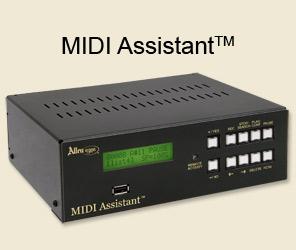 Allen Organs MIDI Assistant